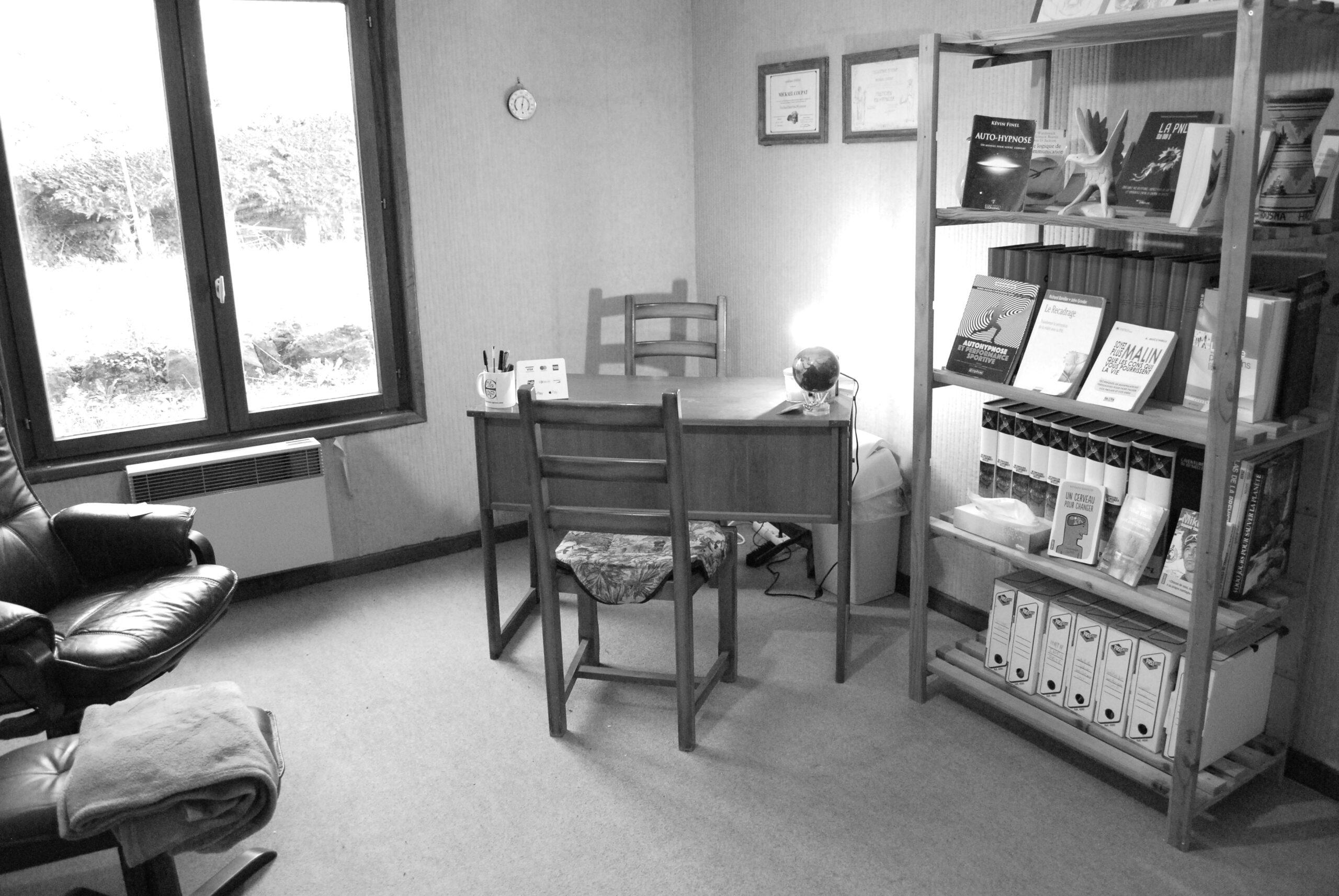La photo du cabinet d'hypnose de Clermont-Ferrand